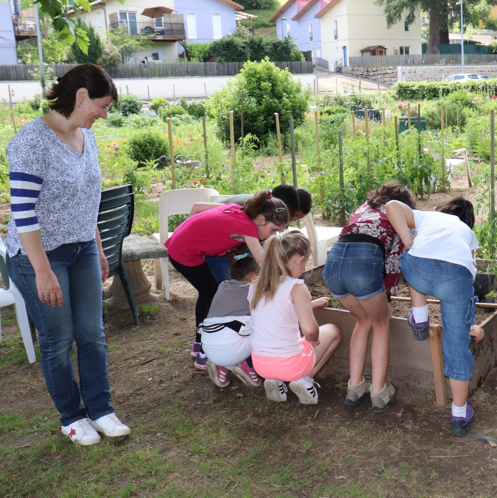 Atelier jardinage - Juin 2019
