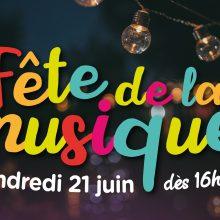 Visuel de la fête de la musique 2019 à Francheville