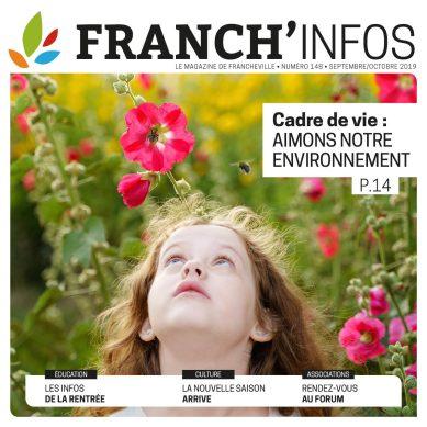 Franch Infos 148 Septembre Octobre 2019 : Aimons notre environnement !